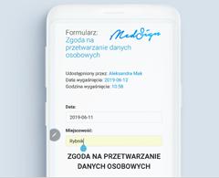 Aplikacja mobilna Medfile